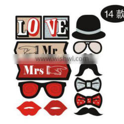 Funny mask board Wedding party photograohy shooting props fun props