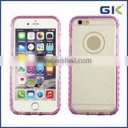 [GGIT] TPU Electroplating with Diamond Soft phone case, wholesale for iphone 6 bumper case