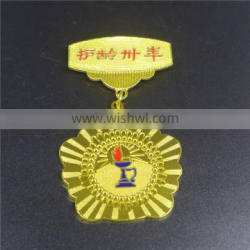Hot sell factory price wholesale smiley badge