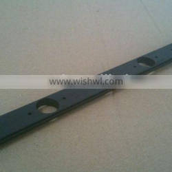 Industrial Extruded Black Anodized Perforated Aluminum profile