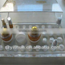 Professional fashion acrylic cosmetic dispaly stand