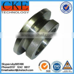 CNC Stainless Steel Knurling and Threading Machine Parts