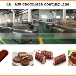 CE approved small chocolate enrobing machine manufacturer