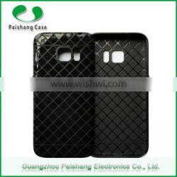 Free sample mobile acessories rhombus design soft TPU phone case for sumsung s7