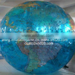 2013 Brand new commercial grade pvc inflatable earth zorb ball