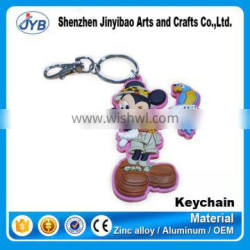 Cheap wholesale factory cute Minnie Mouse Keyring Key chain