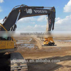 Hydraulic plate compactor for backhoe Excavator