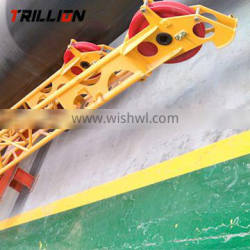 Professional production QY25K5.14 luffing jib tower crane