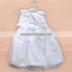 Flower children clothes 2016 cheap summer latest party wear flower girl dresses for 2-7 years