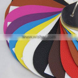 Embossed PU leather for car cover material usage , no bad smell