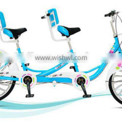 24 inch tandem bike / single speed bicycle / double seat tandem bicycle