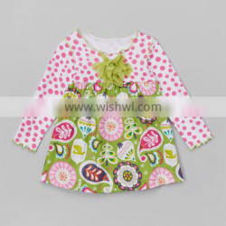 2015 Online Hot Sale Cotton Material Pretty Girls Traditional Festival Christmas Dress Z-GD80724-16