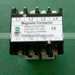 GE model,3 PHASE 4Pole AC contactor for center pivot irrigation system