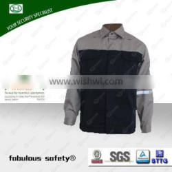 Fabric and garment factory OEM service Men's 100% cotton worker jacket