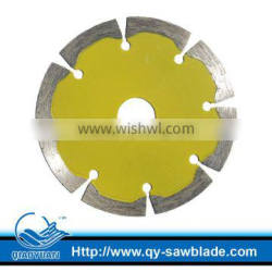 4 inch cold pressed diamond saw blade segmented with flower type for stone