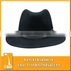 Wholesale man's fedoral hats