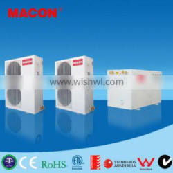 MACON High efficiency EVI Split type Double source Heat Pump cooling heating and domestic hot water