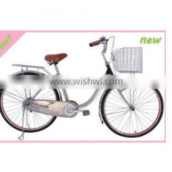 """26"""" stainless steel bike city bike/bicycle/cycle made in china"""