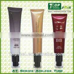 LDPE airless pump cosmetic Tubes
