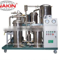 CQTPF100 stainless steel vacuum cooking oil recycle plant