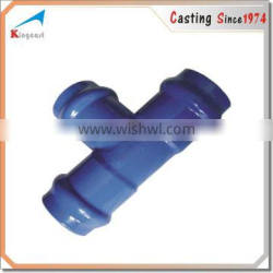 Custom ductile iron sand casting cast iron pipe and fittings