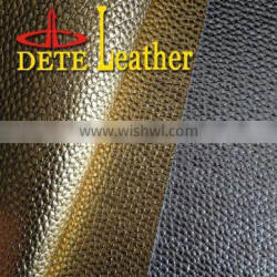 new product stone design pu synthetic leather for bags from china supplier