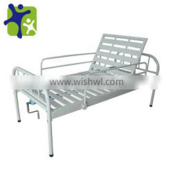 Hospital nursing bed, steel Patient Hospital bed with Guardrails, HLC--DY01-
