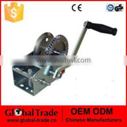 Hand Winch(Empty) 2500lbs / 1100kg Boat Trailer Caravan without Cable Marine Puller T0039