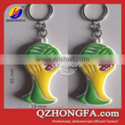 PVC Key Chains for World Cup Brazil 2014