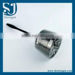 Trade assurance Hot Selling Cheap Cleaning Clear Plastic Toilet Brush with Holder