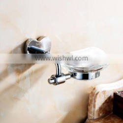 bathroom accessory sanitary ware with brass soap dish for shower rail.