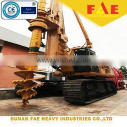 First small rotary drilling rig-FAR75 mini piling rig for sale