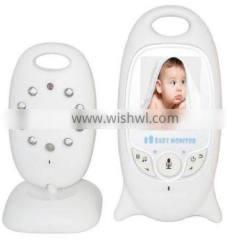 Wireless Video 2.0 inch Color Baby Monitor Security Camera 2 Way Talk NightVision IR LED Temperature Monitoring