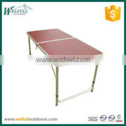 Aluminum two foldable outdoor table