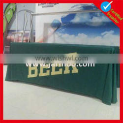 custom made colorful advertising table cover