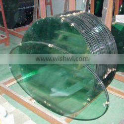 tinted toughened glass table top china supplier