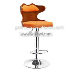 LB-JH5063 cheap bent wood bar chair of famous wood bar chairs