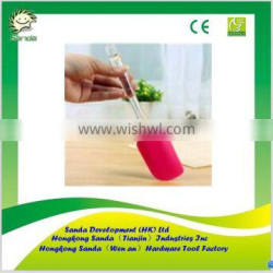 silicone spatula with pp plastic handle
