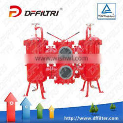 Hydraulic Duplex Filter SDRLF Double Large Flow Rate Return Filter Used In Hydraulic System