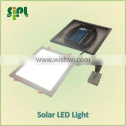 Clean-energy vent kits solar commercial square round led lights
