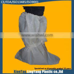 Rubber disposable boot cover