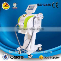 Europen style! 2 in 1 super hair removal opt ipl machine