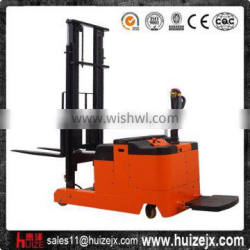 Battery Standing Operated Electric Forklift Counter Balance Stacker