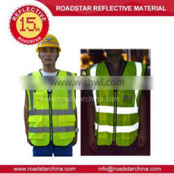 Hot Sell Traffic Reflective vest for safety riding