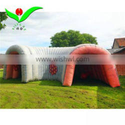 Giant adventure inflatable Colon entrance tunnel