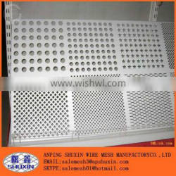 China Manufactory supply Galvanized Perforated Metal mesh punching hole plate