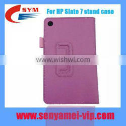 Factory price PU leather For HP Slate 7 case