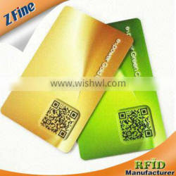 Fast Delivery and Hot Selling 125kHz Em RFID Cards and 13.56MHz RFID Card with QR number