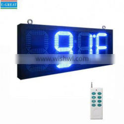 Low price and good quality outdoor Digital Led Stopwatch with RF control