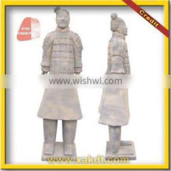 Chinese Clay Statue Clay Crafts Reporduction of Qin Terracotta Warriors BMY-1193